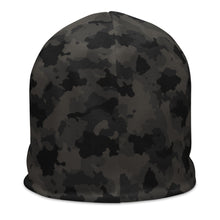 Load image into Gallery viewer, Gym Class Camo Barbells -  All-Over Print Beanie