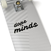 Load image into Gallery viewer, Copy of Dope Minds | Black | Cutout Style Stickers