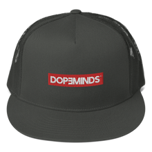 Load image into Gallery viewer, DopeMinds - Red Logo Trucker Hat