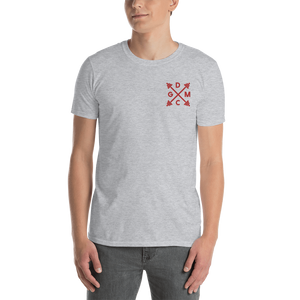 DopeMinds Gym Class Barbells - Embroidered T-Shirt