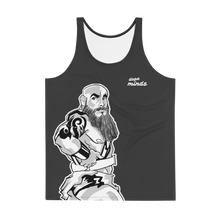 Load image into Gallery viewer, Ant Sketches - Bara Beardedbearman Tank Top (Dark)