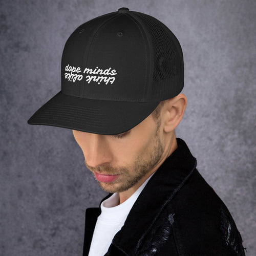 Dope Minds Think Alike Trucker Cap