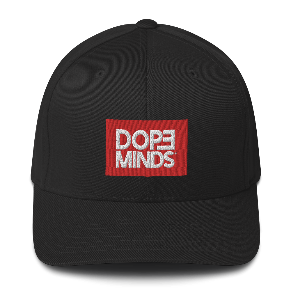 DopeMinds Red Box Logo Hat
