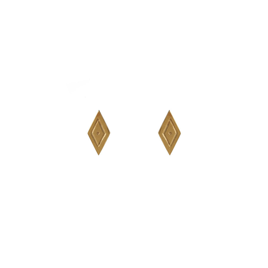 Gold Wise Studs