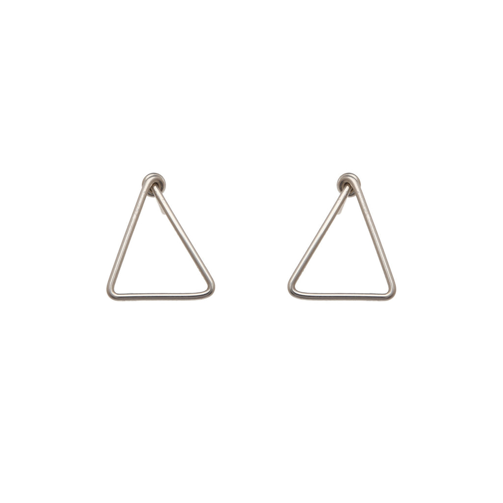 Mini Simple Triangle Studs