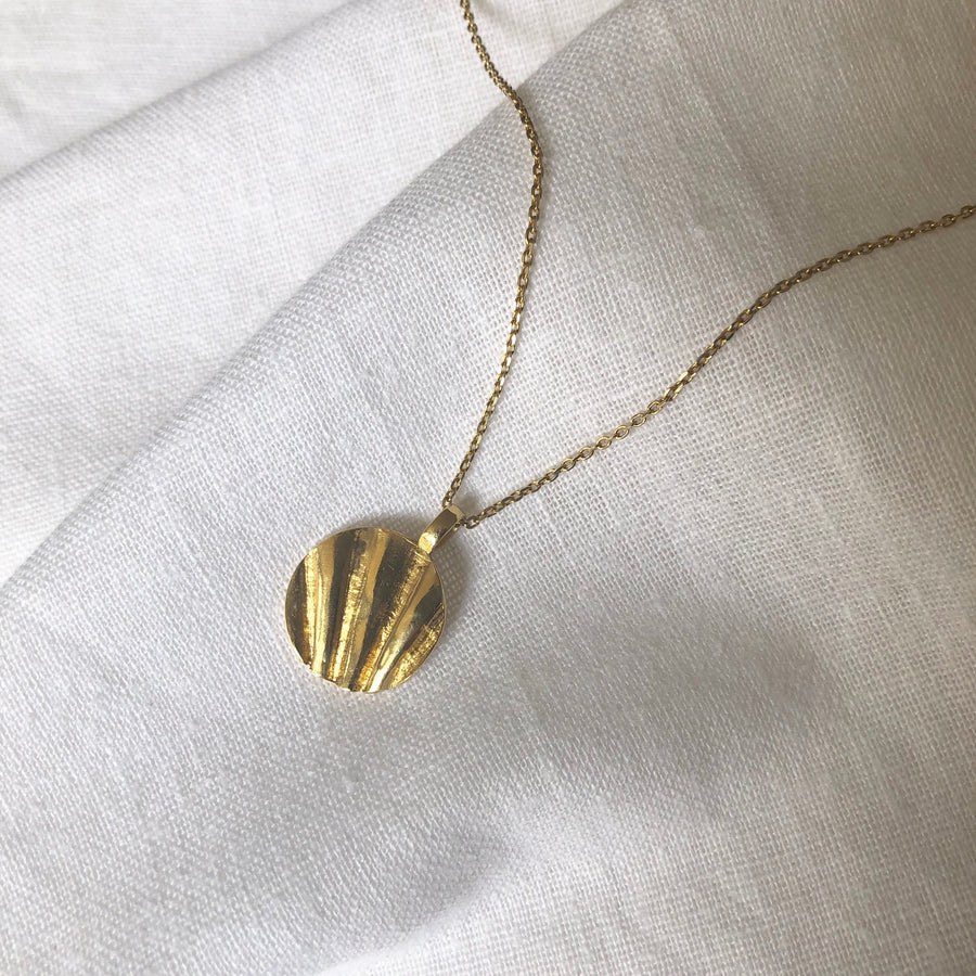 Shell Fragment Necklace