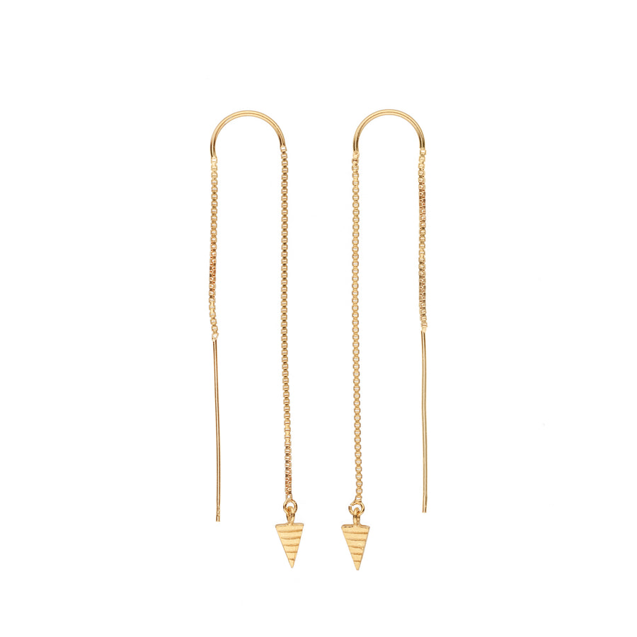 Teepee Threader Earrings