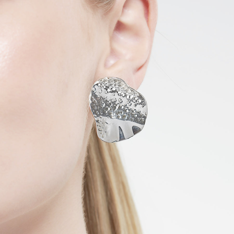 Wave Earrings Silver