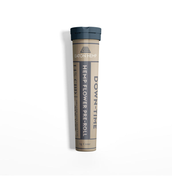 Hemp CBD Flower Pre-Rolls: Down-Time