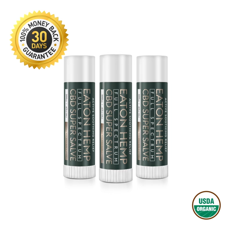 Total Body, Full-Spectrum CBD Infused Super Salve