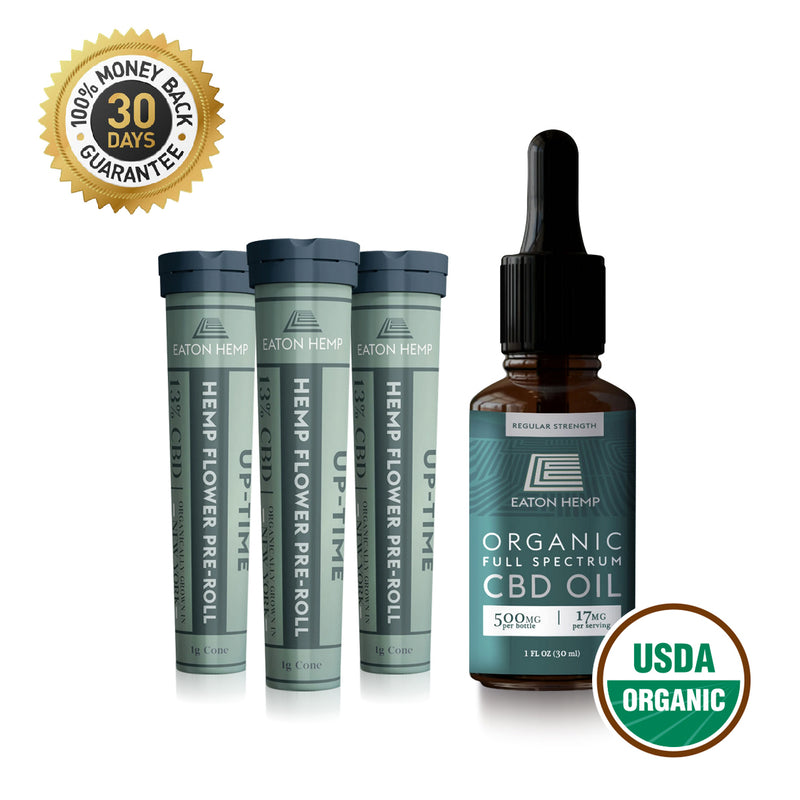 1oz Tincture + Pre-Roll Bundle Packs