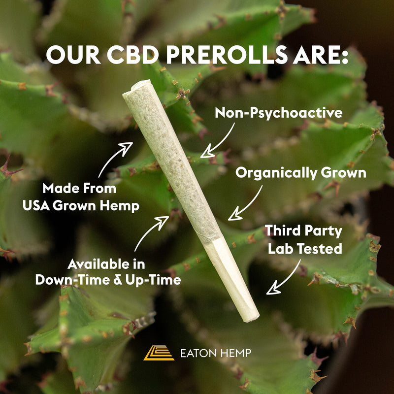 Limited Edition Hemp CBD Flower Pre-Rolls