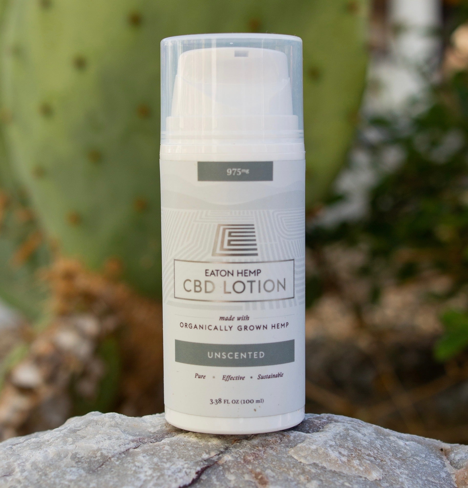 Organically Grown, Full-Spectrum CBD Lotion