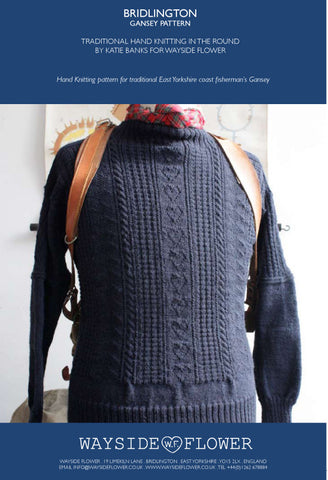 Gansey Pattern - Bridlington Hand Knitting Pattern