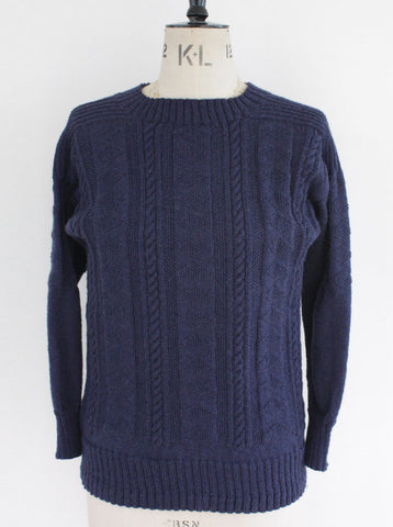 Flamborough Gansey Navy Small