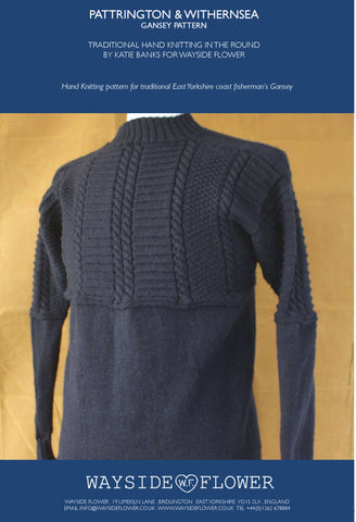 Gansey Pattern - Withernsea Hand Knitting Pattern