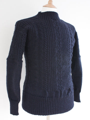 Gansey Sweater Bridlington - Navy Medium