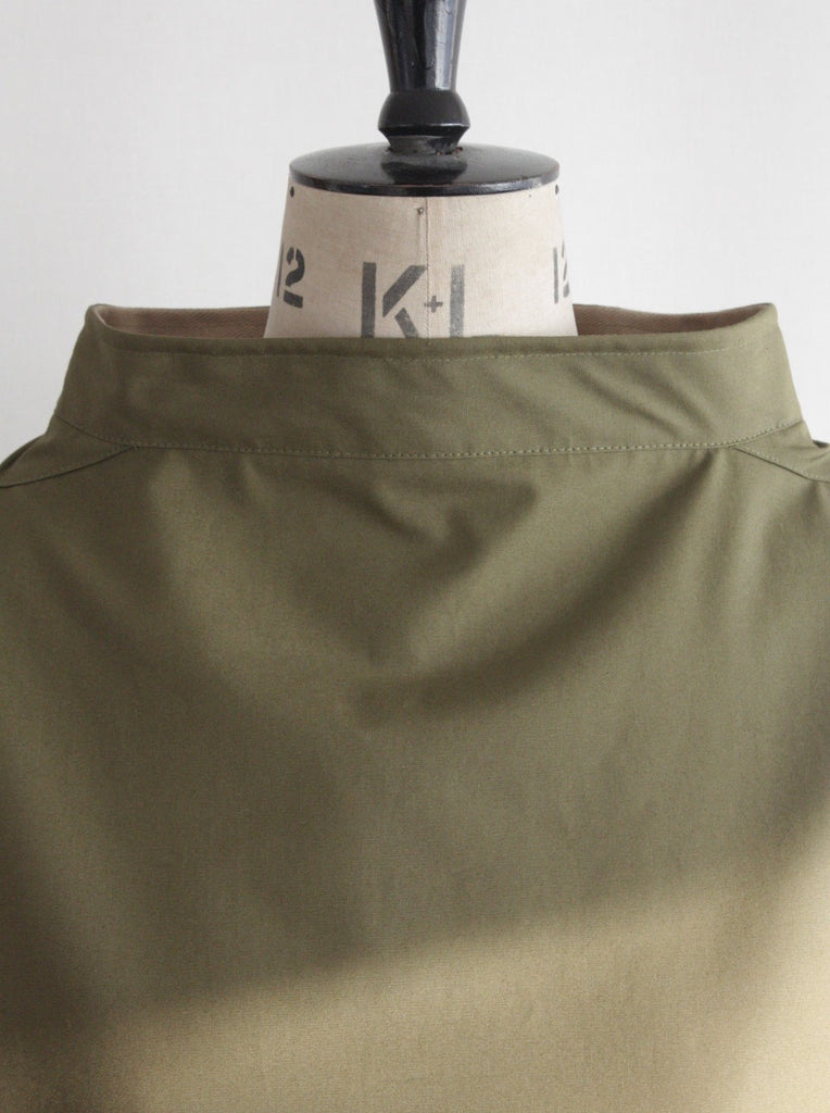Waterproof Lined Smock Olive