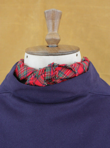 Fisherman's Neck Scarf Royal Stuart Tartan, Medium