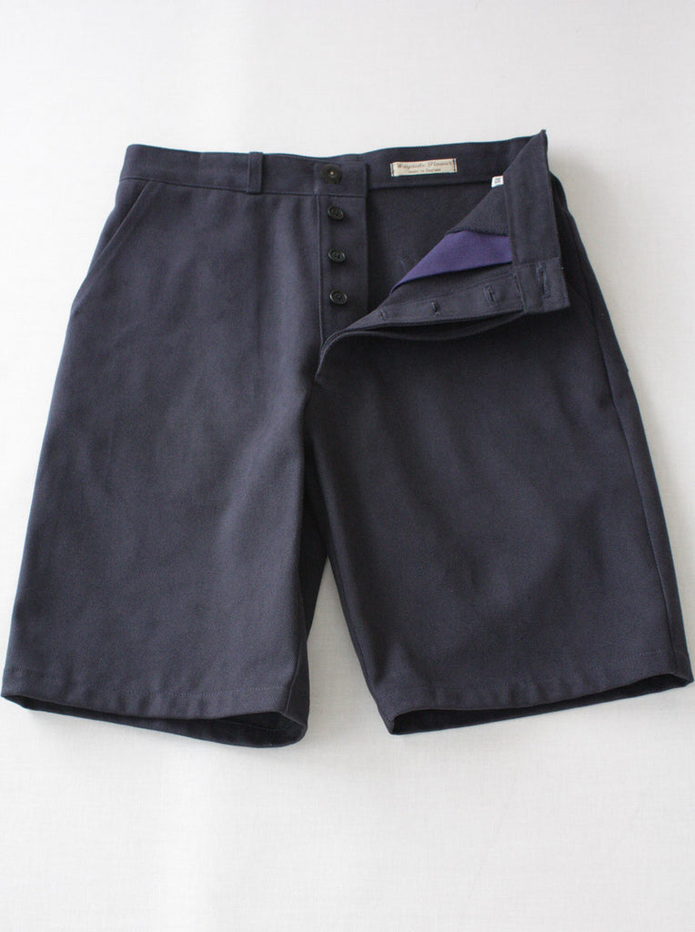 Utility Short Heavy Twill Navy