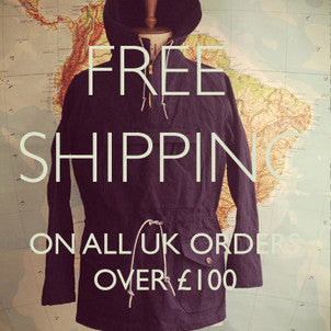 Free Shipping | Free Delivery on all UK orders over £100