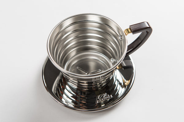<p>卡莉塔 155 波浪系列 不鏽鋼濾杯<br/>Kalita 155 Wave Stainless