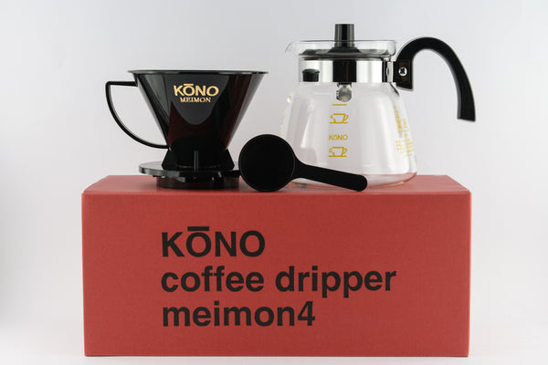<p>河野 名門彩色系列 手沖濾器組<br/>Kono Meimon Coffee Dripper Set