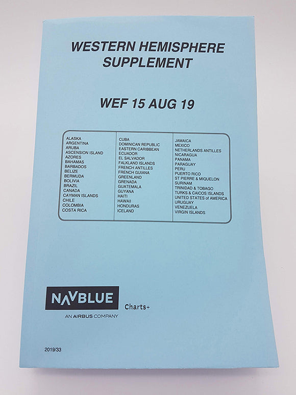 NAVBLUE Western Hemisphere Supplement