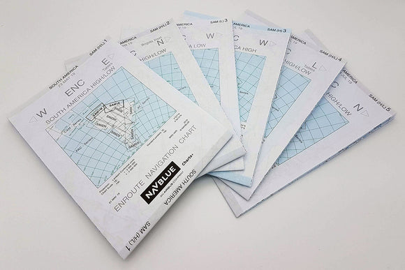 NAVBLUE IFR Paper Enroute Charts - South America