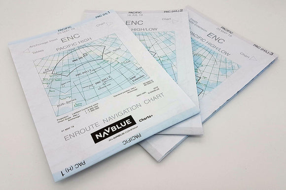 NAVBLUE IFR Paper Enroute Charts - Pacific