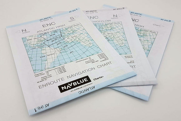 NAVBLUE IFR Enroute Paper Charts - Atlantic