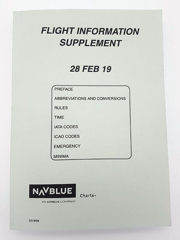 NAVBLUE Flight Information Supplement