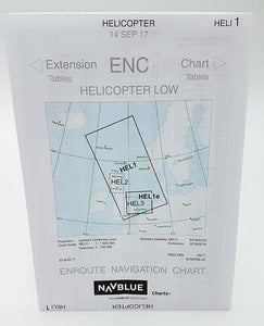 NAVBLUE IFR Enroute Paper Charts - Helicopter
