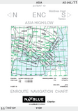 NAVBLUE IFR Enroute Paper Charts - Asia