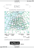 NAVBLUE IFR Enroute Paper Charts - Europe