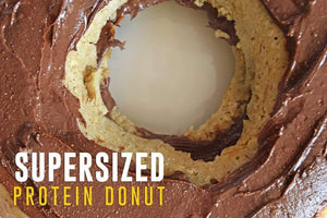 Supersized Protein Donut