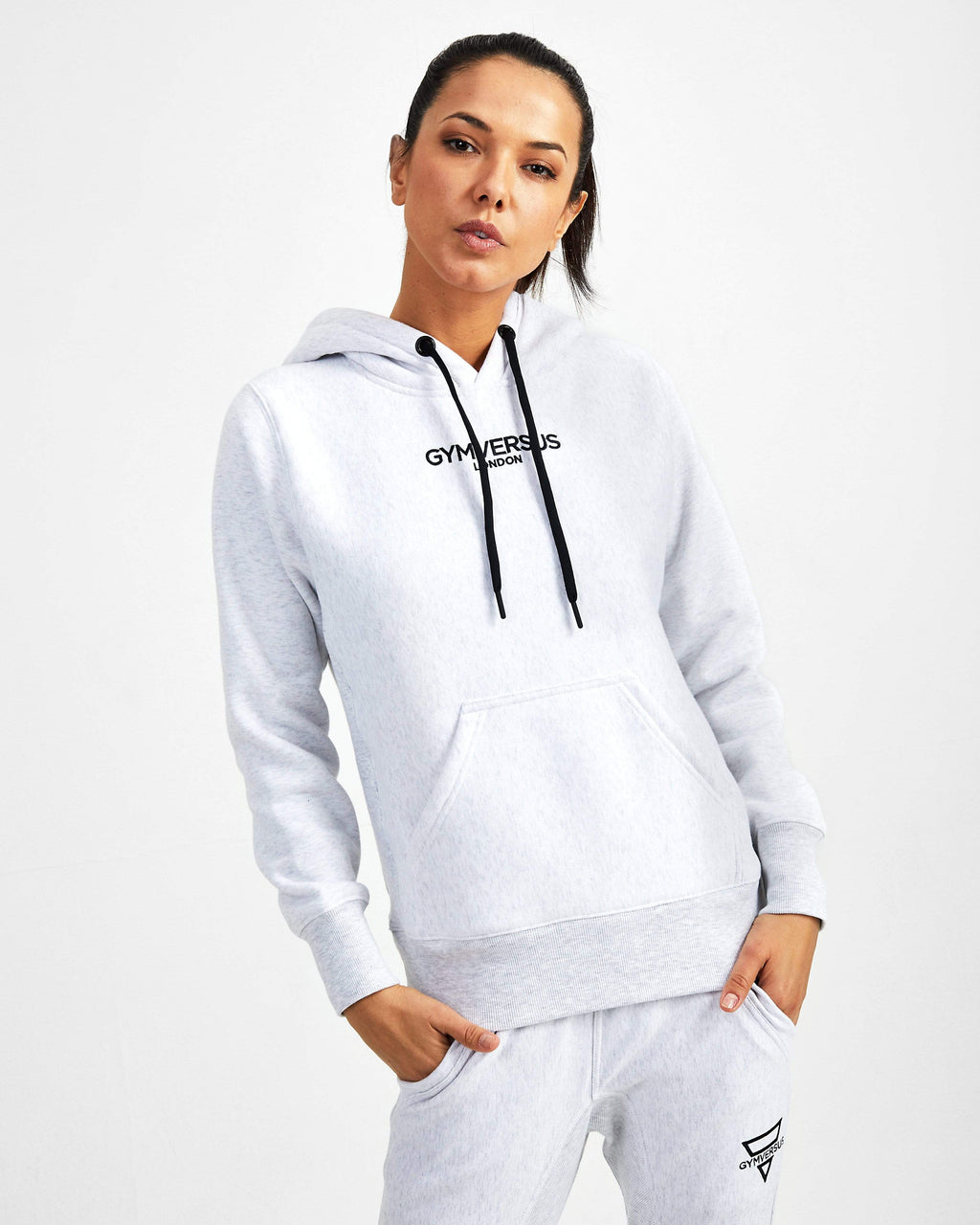 Everyday Luxe Pullover - Marl Grey - GYMVERSUS