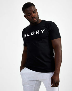 Glory Starter Crew Neck Tee - Black