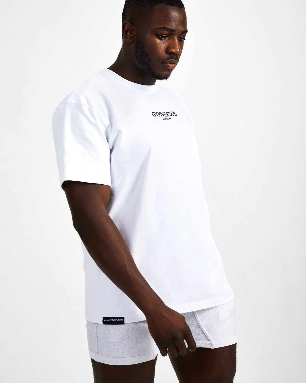 Small Logo Superset Oversized Cotton Tee