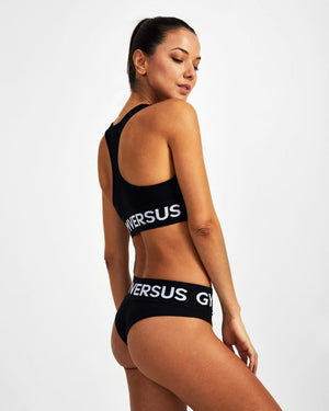 Rest Day Bralette - Black - GYMVERSUS
