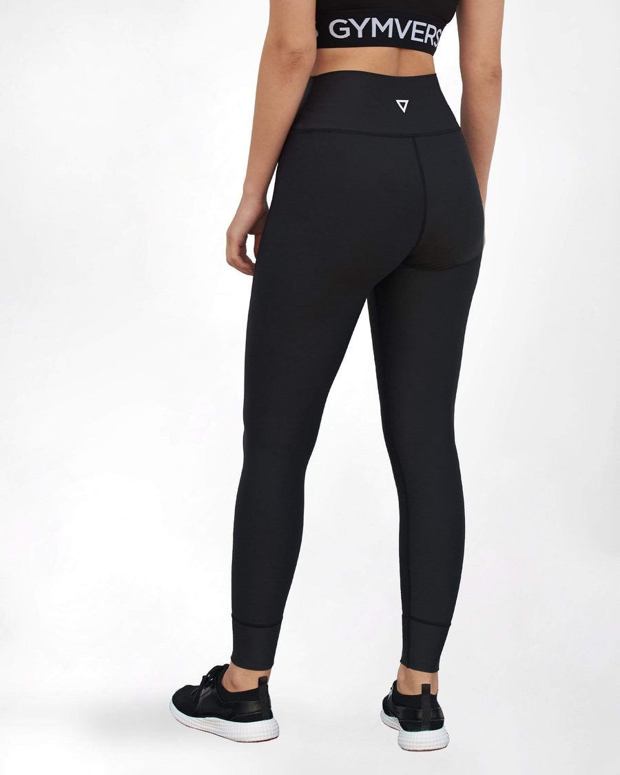 Black Contour Leggings - GYMVERSUS