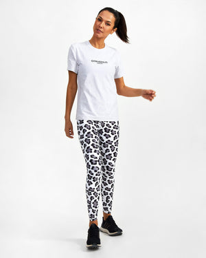 Snow Leopard Leggings (Restock 5th May)