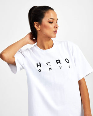 Hero Superset Oversized Cotton Tee - White