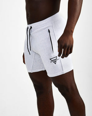Everyday Fitted Shorts - Marl Grey