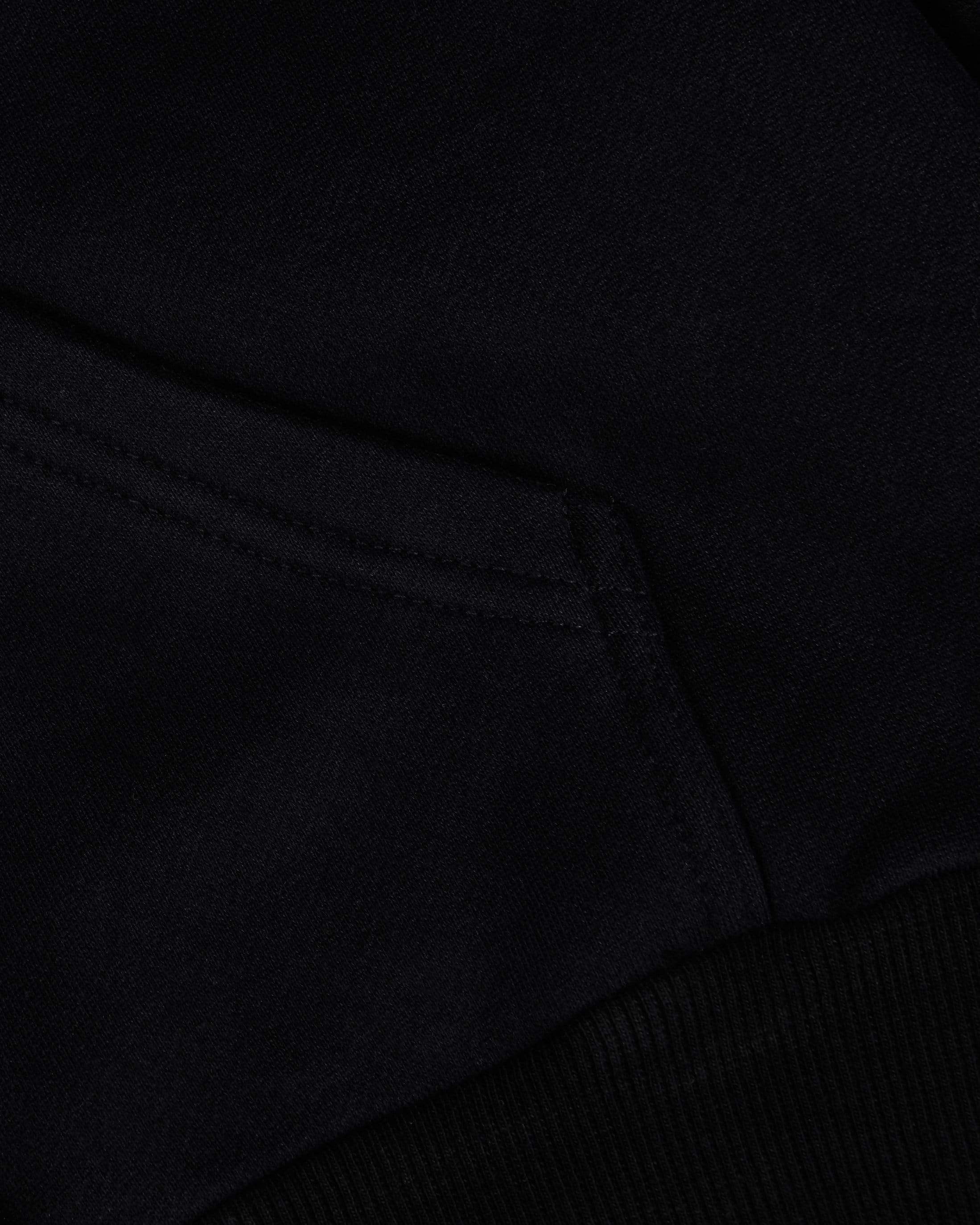 Heavyweight Luxe Pullover - Black - GYMVERSUS