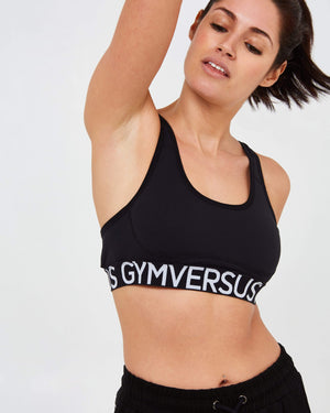Support Sports Bra - Black - GYMVERSUS
