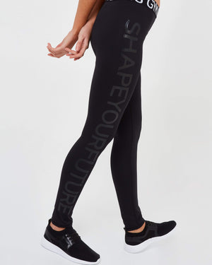 Shape Your Future Leggings - Black - GYMVERSUS