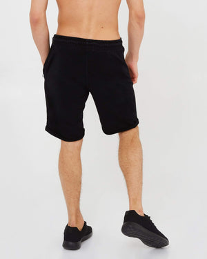 Fitted Jersey Shorts - Black
