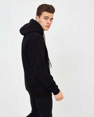 Heavyweight Luxe Pullover - Black