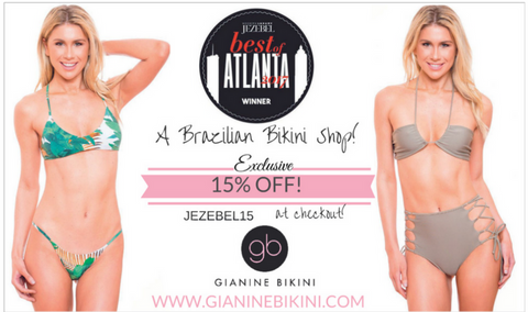 Best of Atlanta Gianine Bikini Jezebel Magazine Best Swimwear